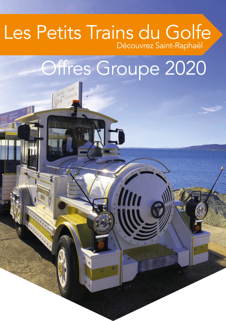 Le catalogue spécial groupe du Petit Train de Saint-Raphaël
